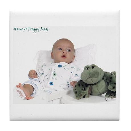 Froggy Baby Tile Coaster