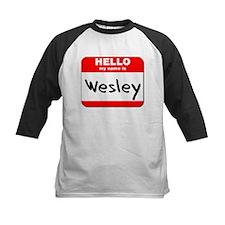 Hello my name is Wesley Tee