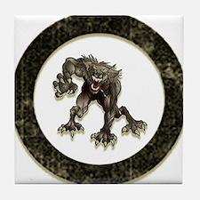 Cute Teen wolf Tile Coaster