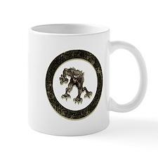 werewolf circle Mugs