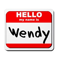 Hello my name is Wendy Mousepad