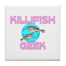 Killifish Geek Tile Coaster