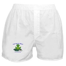 Your (Frog) Pad or Mine Boxer Shorts