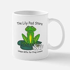 Frog on a Lily Pad Mug