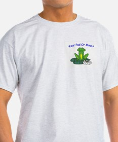 Your (Frog) Pad or Mine Ash Grey T-Shirt