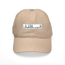 I climb like a grrl! Baseball Cap