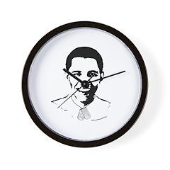 Military Obama Wall Clock