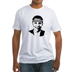 B-ball Obama Fitted T-Shirt