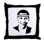 B-ball Obama Throw Pillow