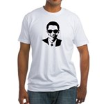 Obama Raybans Fitted T-Shirt
