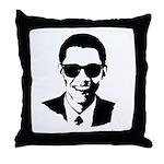 Obama Raybans Throw Pillow
