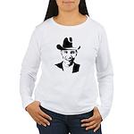 Cowboy Obama Women's Long Sleeve T-Shirt