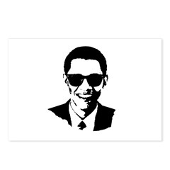 Obama Raybans Postcards (Package of 8)