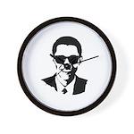 Obama Raybans Wall Clock