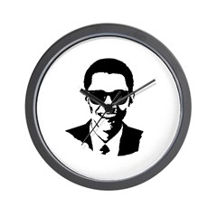 Obama Raybans Wall Clock