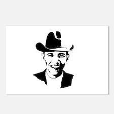 Cowboy Obama Postcards (Package of 8)