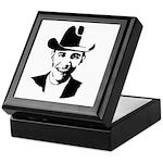Cowboy Obama Keepsake Box