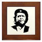 Che Obama Framed Tile