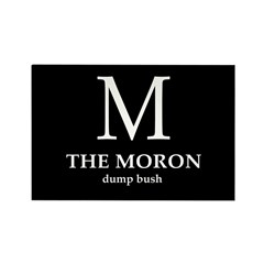 M: The Moron Rectangle Magnet