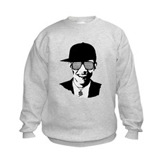 Barack Obama Hipster Glasses Sweatshirt