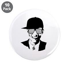 Barack Obama Hipster Glasses 3.5