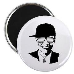 Barack Obama Hipster Glasses Magnet