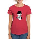 Barack Obama Hipster Women's Dark T-Shirt