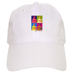 Jane Austen Pop Art Baseball Cap