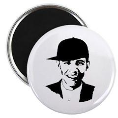 Barack Obama Hat Magnet