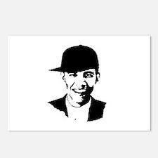 Barack Obama Hat Postcards (Package of 8)