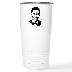 Barack Obama Bowtie Travel Mug