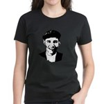 Barack Obama Beret Women's Dark T-Shirt