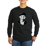 Barack Obama Beret Long Sleeve Dark T-Shirt