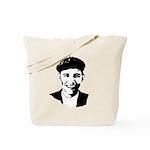Barack Obama Beret Tote Bag
