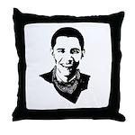 Barack Obama Bandana Throw Pillow