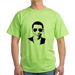 Barack Obama Sunglasses Green T-Shirt