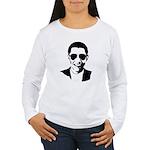 Barack Obama Sunglasses Women's Long Sleeve T-Shir