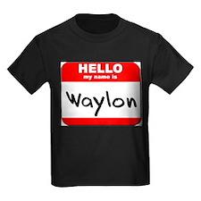 Hello my name is Waylon T
