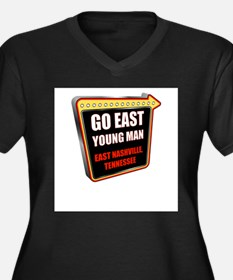 Go East Young Man - East Nashville Plus Size T-Shi