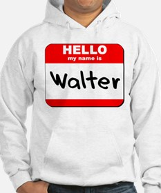 Hello my name is Walter Hoodie