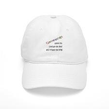 Genealogy Confusion (black) Baseball Cap