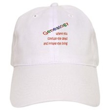 Genealogy Confusion (red) Baseball Cap