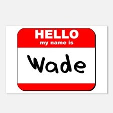 Hello my name is Wade Postcards (Package of 8)
