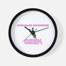 Ivory-Billed Woodpecker Geek Wall Clock