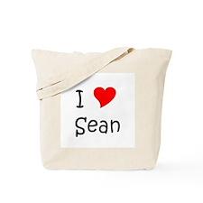 Funny Sean Tote Bag