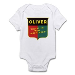 Oliver Tractor Infant Bodysuit
