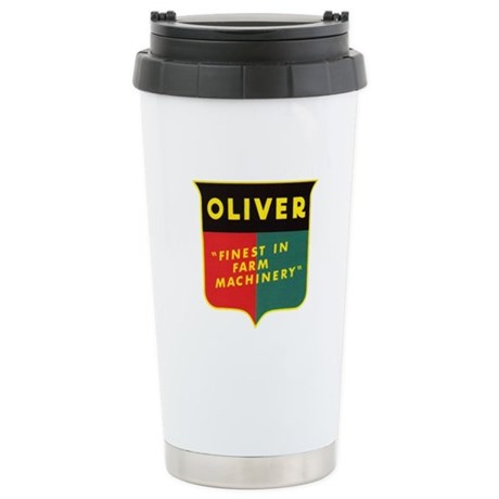 Oliver Tractor Stainless Steel Travel Mug