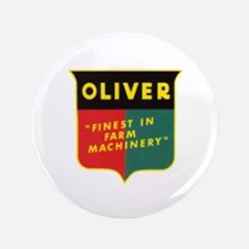 """Oliver Tractor 3.5"""" Button"""