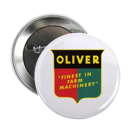 """Oliver Tractor 2.25"""" Button"""