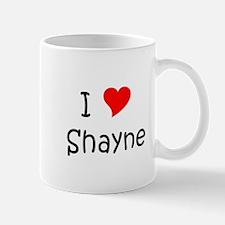 Cute Love shayne Mug
